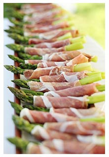 Free Ham-Wrapped Asparagus Spears recipe from Mountain View Country Market in Tennessee