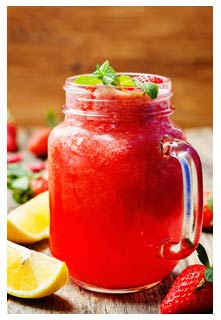 Free Berry Lemonade recipe from Mountain View Country Market in Tennessee