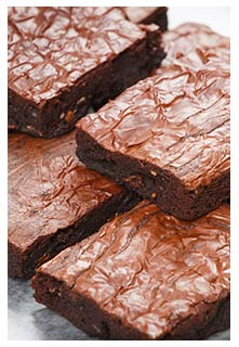 Free Chewy Gooey Brownies recipe from Mountain View Country Market in Tennessee