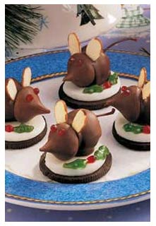 Christmas Mice Recipe from Mountain View Country Market in Chuckey, Tennessee