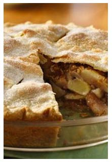 Country Harvest Apple Pie recipe from Mountain View Country Market in Chuckey,TN