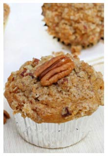 Free Pumpkin Streusel Muffin recipe from Mountain View Country Market In chuckey, tennessee