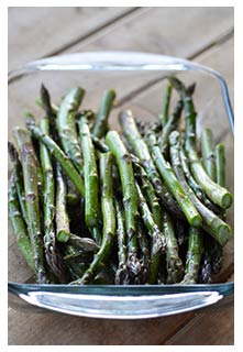 Roasted  Asparagus recipe from Mountain View Country Market in Chuckey,TN