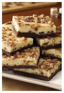 Toffee Top Cheesecake Bars Recipe from Mountain View Country Market in Chuckey, Tennessee