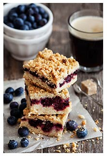 Free Blueberry Bread Squares recipe from Mountain View Country Market in Tennessee