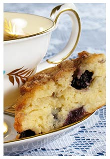 Blueberry Coffee Cake recipe from Mountain View Country Market in Chuckey,TN