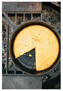 Free Campfire Corn Bread recipe from Mountain View Country Market in Tennessee