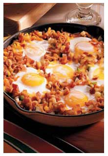 Free Country Brunch Skillet recipe from Mountain View Country Market in Tennessee