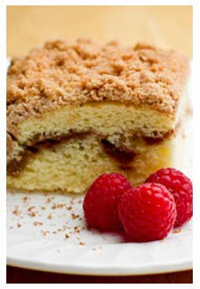 Carefree Coffee Cake recipe from Mountain View Country Market in Chuckey,TN