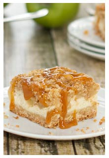 Carmel Apple Cheesecake recipe from Mountain View Country Market in Chuckey,TN