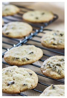 Free Chocolate Chip Mint Cookies recipe from Mountain View Country Market in Tennessee
