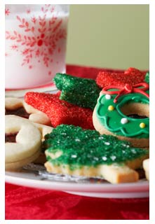 Christmas Cutout Cookies Recipe from Mountain View Country Market in Chuckey, Tennessee
