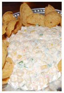 Free Corn Dip recipe from Mountain View Country Market in Tennessee