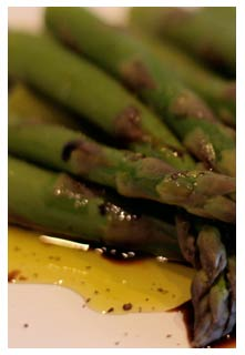 Baked Asparagus w/ Balsamic Butter Sauce recipe from Mountain View Country Market in Chuckey,TN