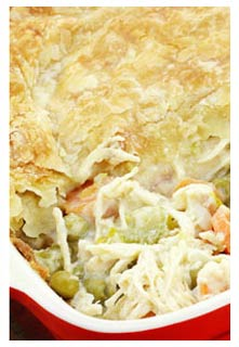 Easy Chicken Pie recipe from Mountain View Country Market in Chuckey,TN