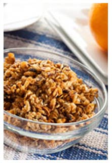Butterscotch Granola Cereal recipe from Mountain View Country Market in Chuckey,TN