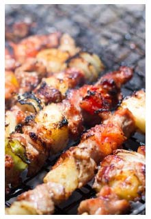 Sirlion Kabobs recipe from Mountain View Country Market in Chuckey, Tennessee
