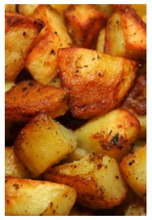 Free Grilled Seasoned Potatoes recipe from Mountain View Country Market in Tennessee