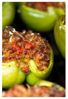 Free Grilled Stuffed Peppers recipe from Mountain View Country Market in Tennessee