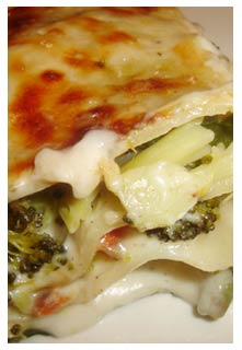 Vegetable Lasagne  recipe from Mountain View Country Market in Chuckey,TN