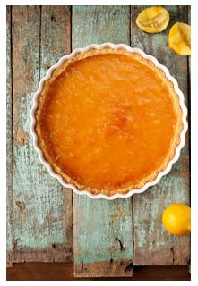 Free Lemon Cake Pie recipe from Mountain View Country Market in Tennessee