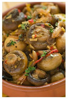 Free Marinated Mushrooms recipe from Mountain View Country Market in Tennessee