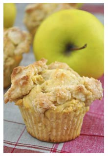 Apple Streusel Muffins recipe from Mountain View Country Market in Chuckey,TN
