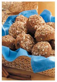 Oatmeal Cinnamon Muffins recipe from Mountain View Country Market in Chuckey,TN