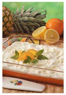 Free Orange Jell-O Salad recipe from Mountain View Country Market in Tennessee
