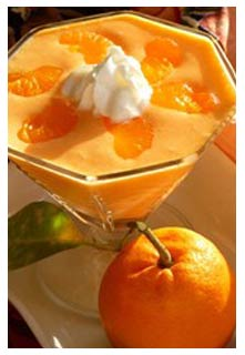 Free Orange Sherbet Jell-O Salad recipe from Mountain View Country Market in Tennessee