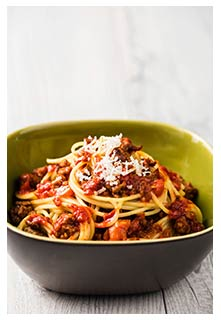 Free Italian Spaghetti recipe from Mountain View Country Market in Tennessee