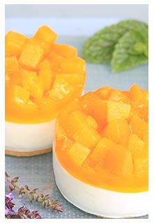Free Peaches and Cream Dessert recipe from Mountain View Country Market in Tennessee