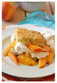 Free Peach Shortcake recipe from Mountain View Country Market in Tennessee