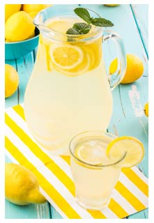 Free Fresh Squeezed Lemonade recipe from Mountain View Country Market in Tennessee