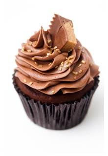 Free Peanut Butter Cupcakes recipe from Mountain View Country Market in Tennessee