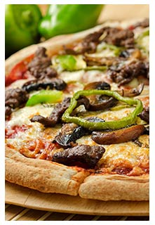 Steak Pizza Recipe from Mountain View Country Market in Chuckey, Tennessee