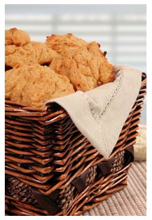 Free Sweet Potato Biscuits with Chees recipe from Mountain View Country Market in Tennessee