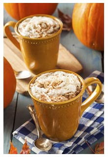 Free Pumpkin Latte recipe from Mountain View Country Market in Tennessee
