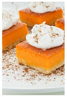 Free Pumpkin Torte recipe from Mountain View Country Market in Tennessee