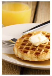 Free Pumpkin Waffles recipe from Mountain View Country Market in Tennessee