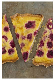 Raspberry Custard Pie recipe from Mountain View Country Market in ...