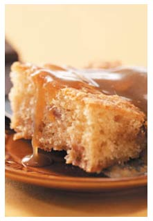 Free Rhubarb Coffee Cake recipe from Mountain View Country Market in Tennessee