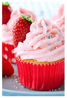 Free Fresh Strawberry Buttercream recipe from Mountain View Country Market in Tennessee