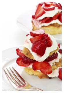 Free Strawberry Shortcake recipe from Mountain View Country Market in Tennessee