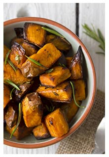 Free Skillet Sweet Potatoes recipe from Mountain View Country Market in Tennessee