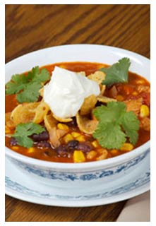 Free Taco Corn Soup recipe from Mountain View Country Market in Tennessee