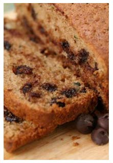 Free Chocolate Chip Zucchini Bread recipe from Mountain View Country Market in Tennessee