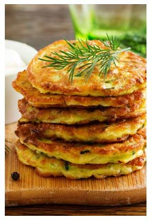 Free Zucchini Fritters recipe from Mountain View Country Market in Tennessee
