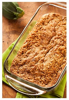 Free Zucchini Nut Bread recipe from Mountain View Country Market in Tennessee